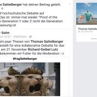 th_sattelberger kommt nach Köln #fragSattelberger #ProofofthePudding