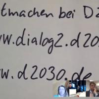 Mehr über Zukunft nachdenken - Mitmachen bei der #D2030 Initiative