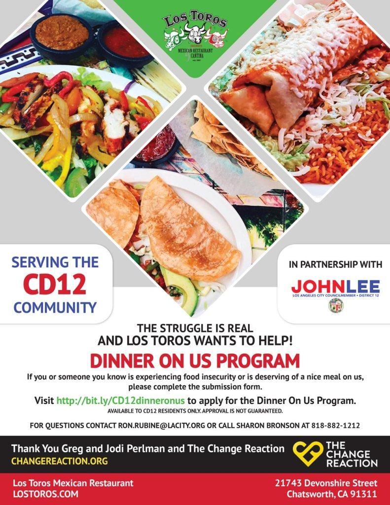 Dinner-On-Us-Program-Los-Toros