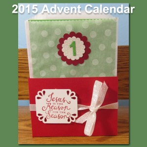 Buy your 2015 Advent Calendar Tutorial Today!