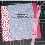 Triple Flip Mini Scrapbook Album