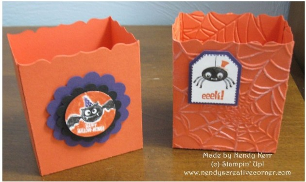 Halloween Fancy Favor boxes