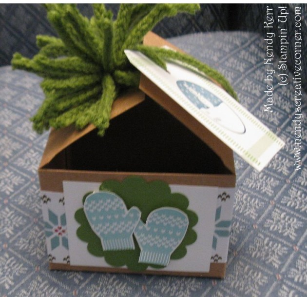Christmas Box-Front View
