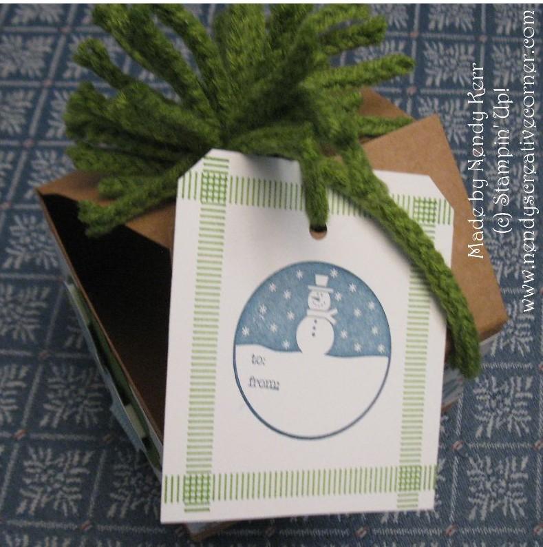 Christmas Box-Top View