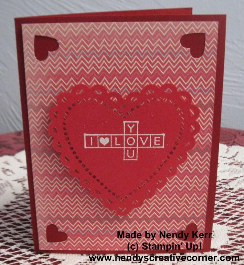 More Amore Valentine Card