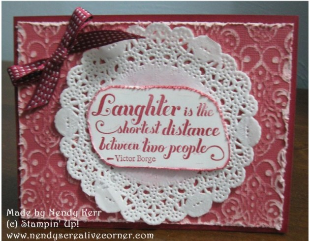 Shabby Chic All Occasion Card