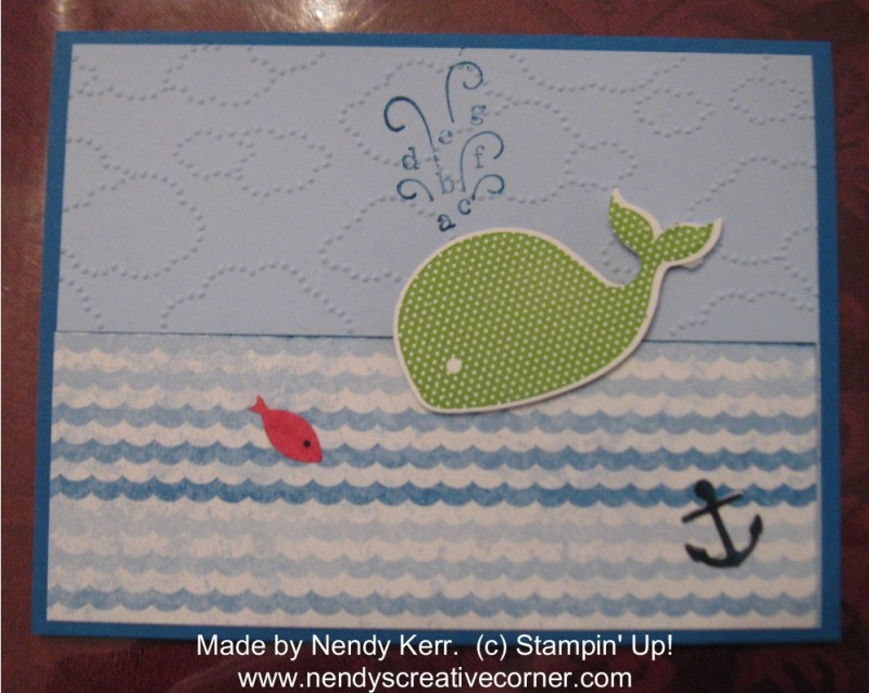 Oh Whale Children's Card