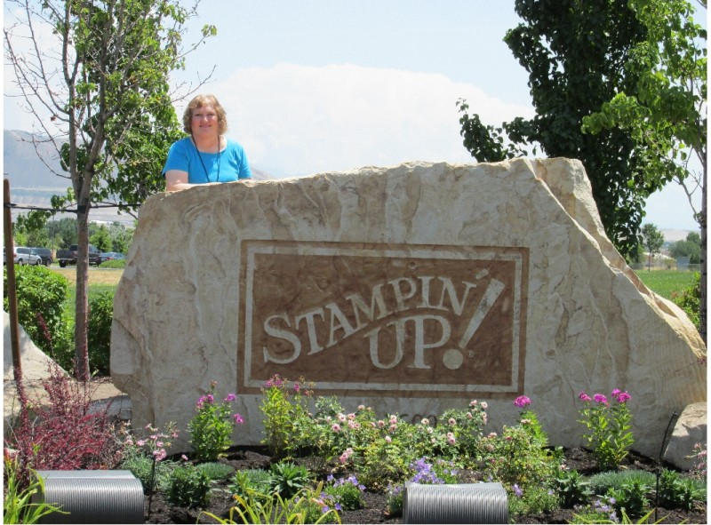 Me by the Stampin' Up! Rock