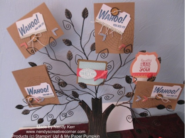 My Paper Pumpkin-Wahoo Kit for September 2013