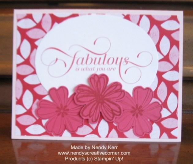 Fabulous Flower Card