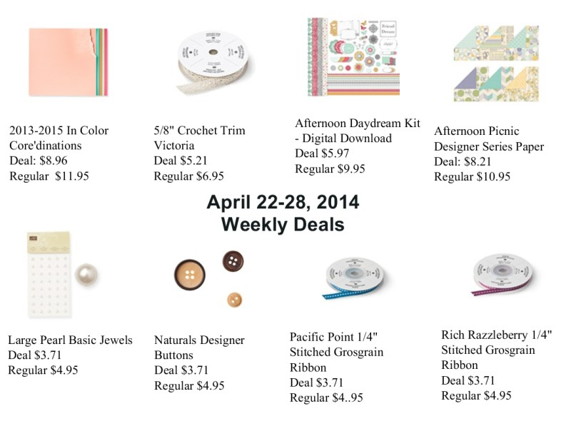 Weekly Deals for April 22-28, 2014