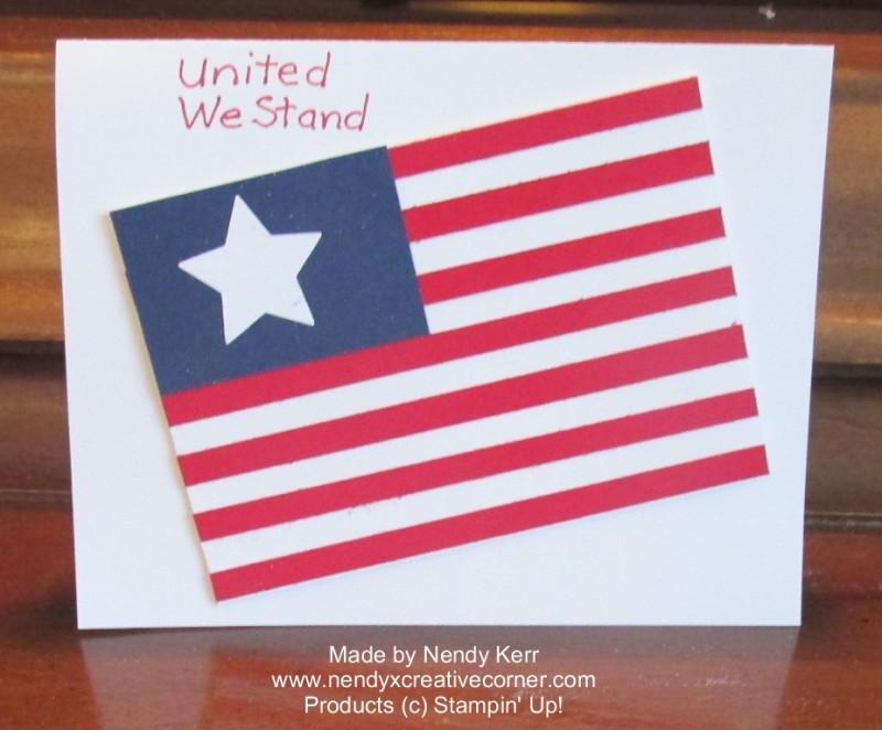 Flag Card 2014