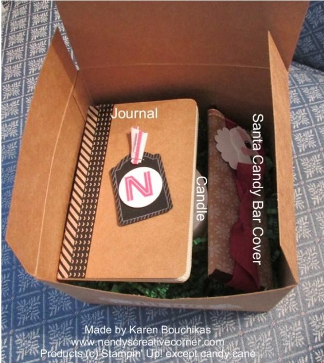 Christmas Gift Box-open