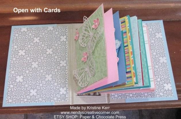 Card Holder Book-Open