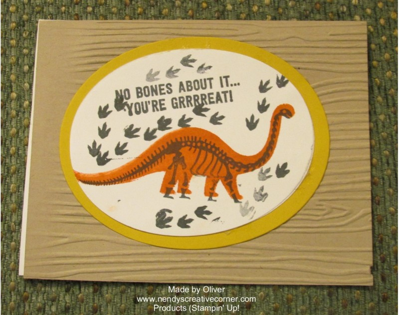 Dinosaur-No Bones About It-Card