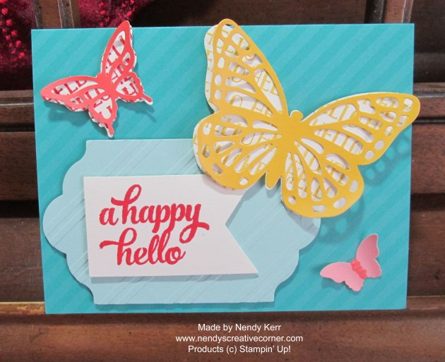 Tin of Cards-Bermuda Bay Butterfly Card