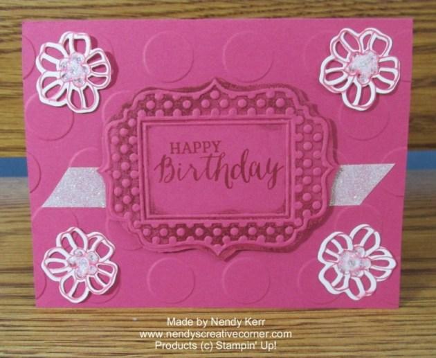 Rose Wonder Birthday card