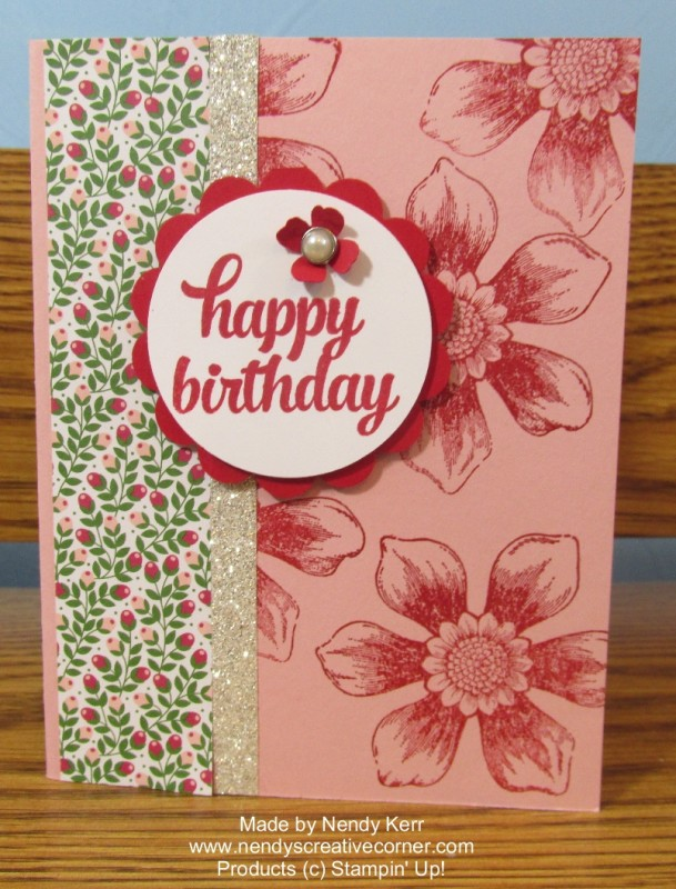 Beautiful Bunch Birthday Card