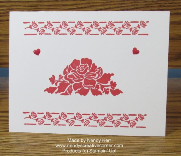 Quick & easy Floral Phases Card