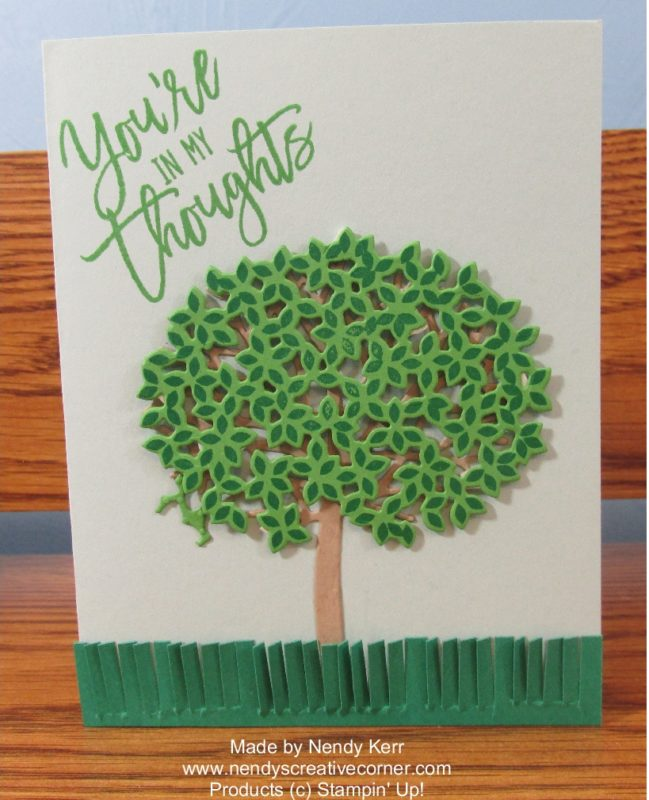 Thoughtful Branches Tree Card