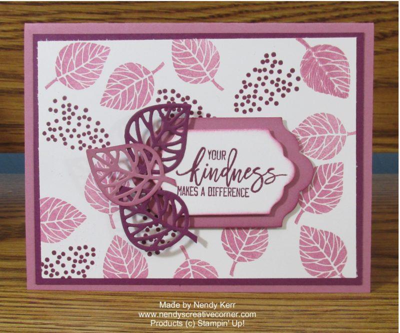 Thoughtful Branches Sweet Sugarplum Card