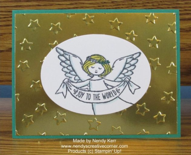 Wonder of Christmas Angel Card