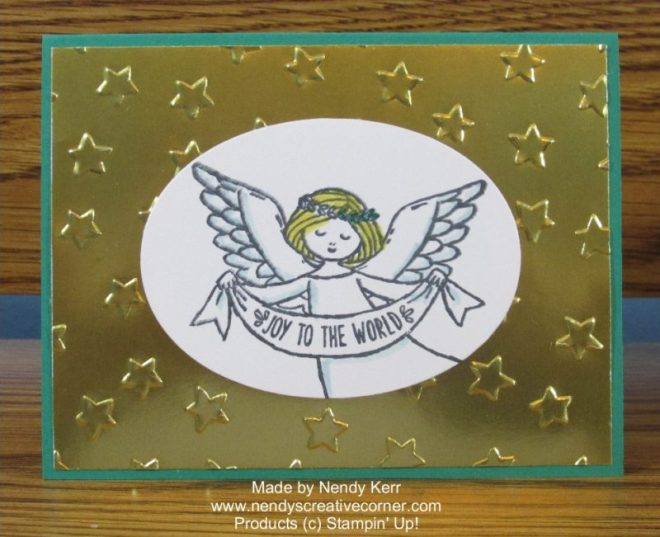 Wonder of Christmas Angel Card