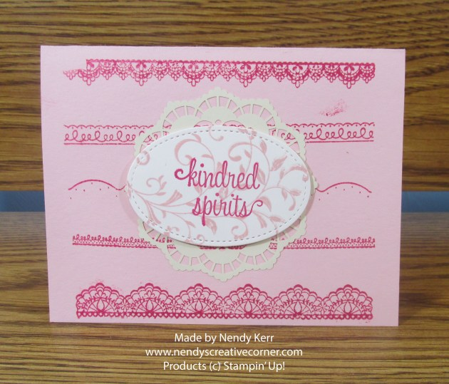 Lacy Kindred Spirits Card