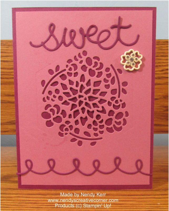 Sweet Flower Card