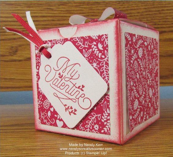 Valentine treat or gift box