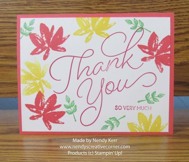 Avant Garden Thank You Card