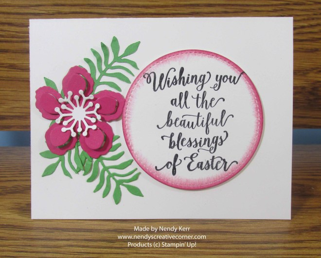 Happy Easter Flower Card