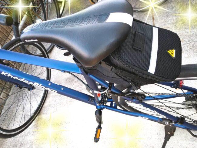 クロスバイクRAIL700をアクセサリーで快適に|ヘルメットとフレームバッグを購入