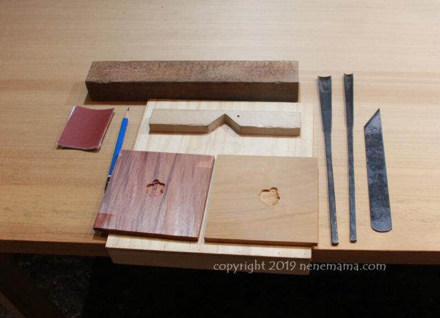 陳彫刻處COMMA体験ヒノキと杉