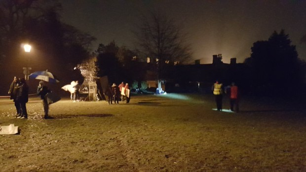 The Big Sleep Out in Abington Park