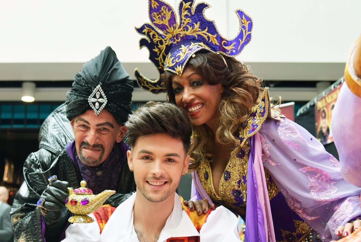 Aladdin stars tell us what Northampton means to them