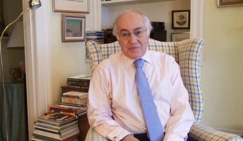 Lord Howard's emotional interview with Northampton student