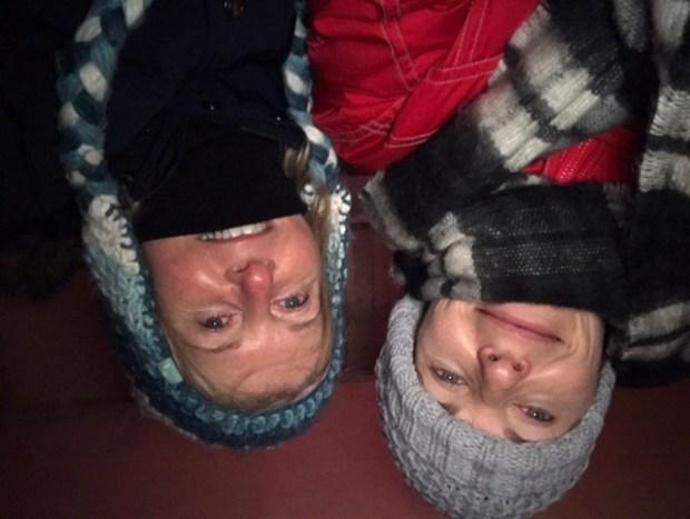 Sharon Smith and Deb
