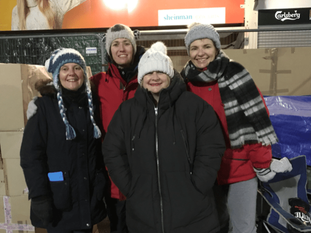 Staff from University of Northampton and Silverstone UTC