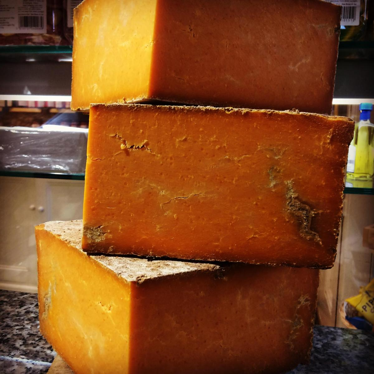 Cheese of the month: Sparkenhoe Farm Vintage Red Leicester