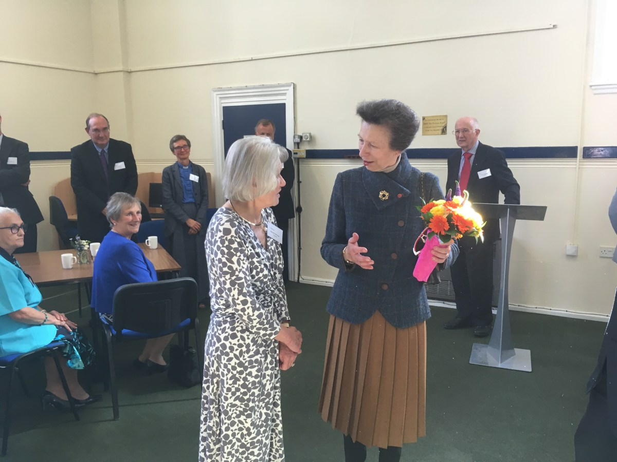 The Princess Royal visits Northamptonshire