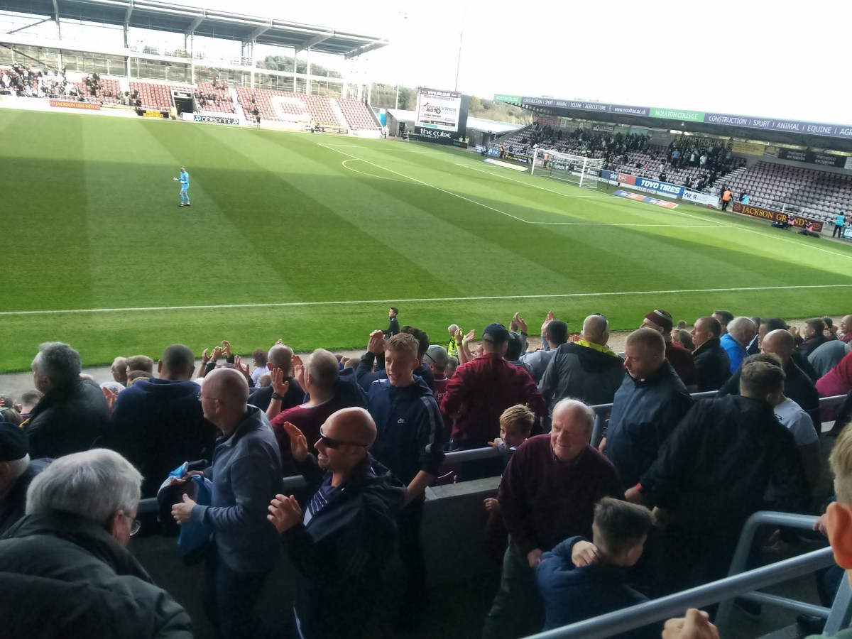 Gripped  by the Cobblers: MK match is no local derby - you need history for a derby