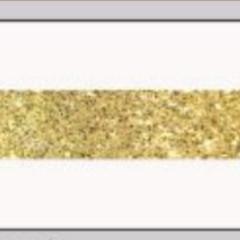 OAKI DOKI - Galloon Trim Coll.3 | 30mm | wit met lurex streep goud *kleur 12029