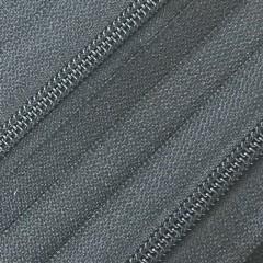 Spiraalrits - niet deelbaar (op rol) | 5mm | zwart