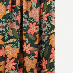 COUPON | VISCOSE | Grote bloemen(140*140)