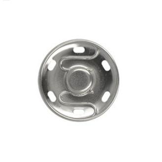 Opnaaibare drukknopen | 13mm - zilver (8st)