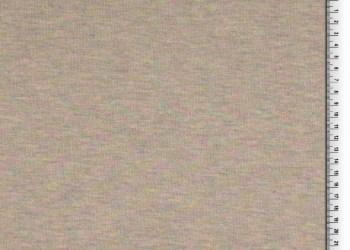 FRENCH TERRY SWEAT | Uni - Regenboog gemêleerd | Grijs met gouddraad