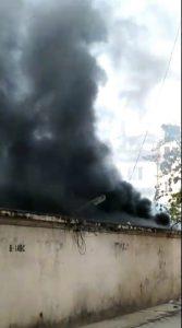 গুয়াহাটি: ক্রিশ্চান বাস্টি ২ নম্বরে ভয়াবহ অগ্নিকাণ্ডের ঘটনা ঘটে