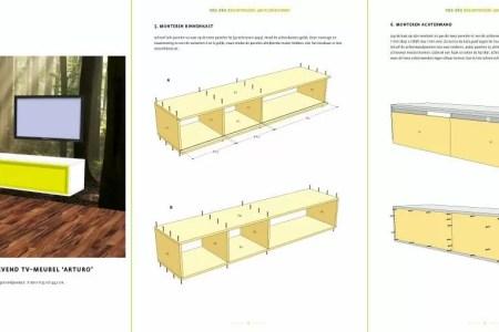 Idées de Cuisine » doe het zelf boekenkast maken | Idées Cuisine