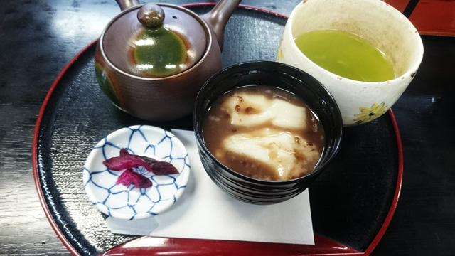 おしるこ煎茶セット